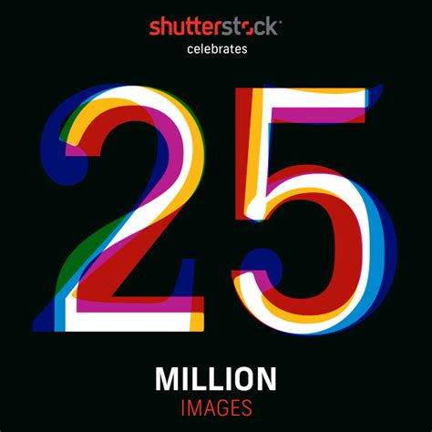 Shutterstock's Library Turns 25 (million!) A Visual