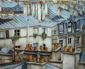 Peinture De Paris Poissy : les toits de paris 40 images exclusives ~ Premium-room.com Idées de Décoration