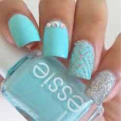 Lovely spring nail art ideas design and glitter