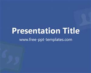 facebook ppt template free powerpoint templates With facebook powerpoint presentation template