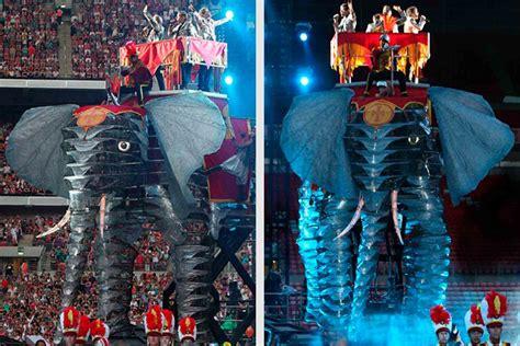 circus  elephant asylum models effects