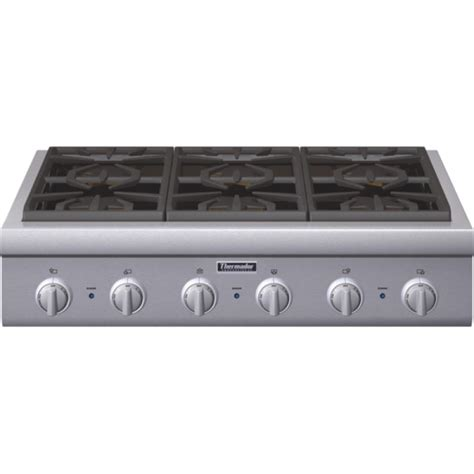 ge gas cooktop 36 inch thermador professional series pcg366g 36 in pro style gas