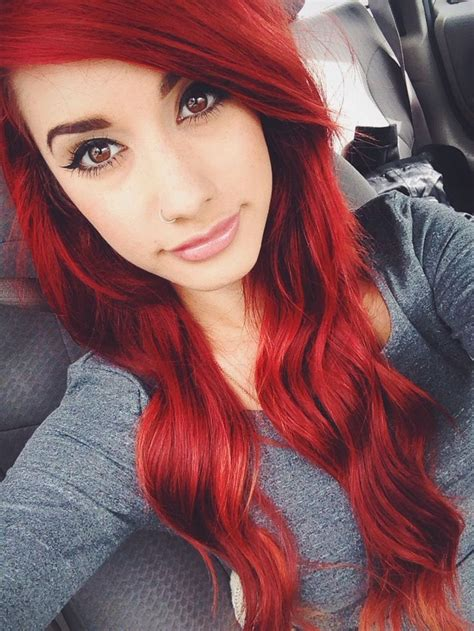 Best 25 Dyed Red Hair Ideas On Pinterest