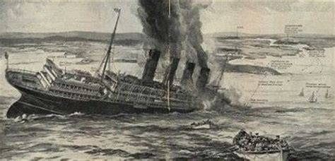 world war i for kids sinking of the lusitania