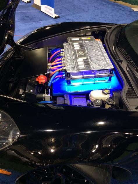 electric powered  corvette  boron extrication