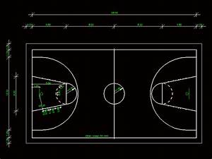 Basketball Court 2D DWG Block for AutoCAD • Designs CAD