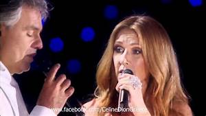 Andrea Bocelli Invites Celine Dion For This Duet. Watch ...