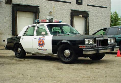 dodge diplomat police cruiser  police cars police