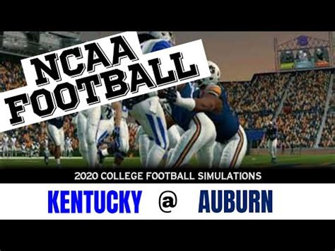 Kentucky vs Auburn NCAAF Live, Reddit, Free College Football
