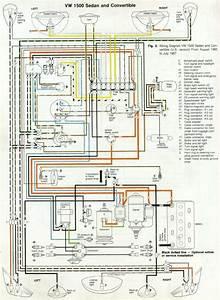 Thesamba Com Type 1 Wiring Diagrams At 1969 Vw Beetle