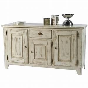 Bahut Bois Blanc : table rabattable cuisine paris meubles tv en bois ~ Teatrodelosmanantiales.com Idées de Décoration