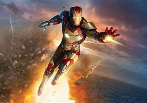 Iron Man Marvel Avangers Fototapeta, Tapeta Na Zeď Na