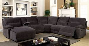 karlee ii transitional style gray chenille fabric With chenille fabric sectional sofa chaise lounge