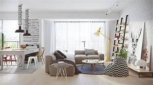 Wohnzimmer Scandi Style : 2 stunningly beautiful homes decorated in modern scandinavian style ~ Frokenaadalensverden.com Haus und Dekorationen