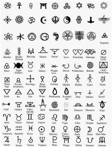 Spiritual Symbols Their Meanings Tattoos