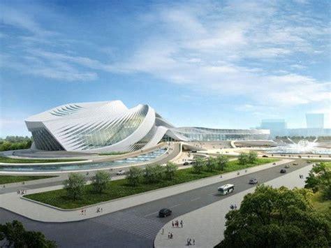 New Century City Art Centre, Chengdu,china, Futuristic