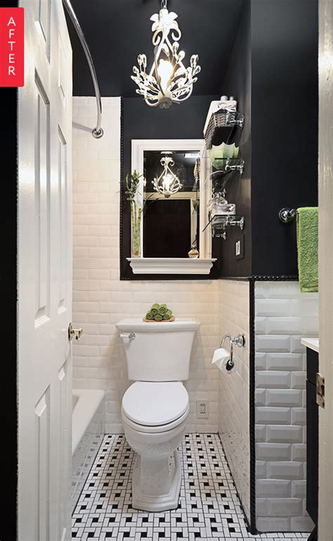 Bathroom Fixtures Nyc by Before After A Boring Bathroom Gets Some Drama