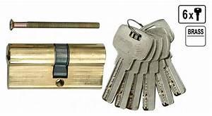 Sicherheits Schließzylinder Test : sicherheits schlie zylinder t r schlo t rschlo 67 mm 6 x schl ssel 31 36 messing handwerk ~ Eleganceandgraceweddings.com Haus und Dekorationen