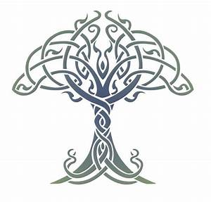 Celtic, Tree, Of, Life, Stencil, Designs, From, Stencil, Kingdom