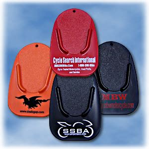 Patented American Made Motorcycle Kickstand Pads