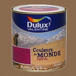 Peinture Dulux Valentine Couleur Du Monde : peinture dulux valentine couleurs du monde n pal intense ~ Dailycaller-alerts.com Idées de Décoration