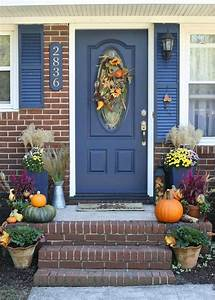 Front, Porch, Decor, For, Fall