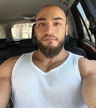 Bald Man with Beard Style