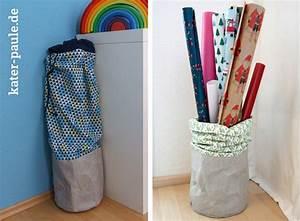 Geschenkpapier Aufbewahrung Ikea : geschenkpapier aufbewahrung diy im snaply magazin kater paule ~ Orissabook.com Haus und Dekorationen