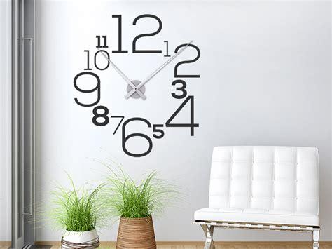 Uhr Mit Zahlen by Wandtattoo Uhr Mit Zahlen Wanduhr Wandtattoos De