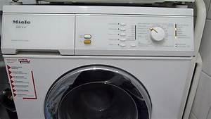 Miele Waschmaschine Pumpe : waschmaschine miele gala w961 sp len led blinkt youtube ~ Michelbontemps.com Haus und Dekorationen