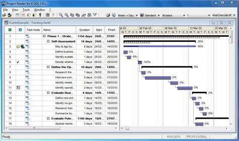 microsoft project viewer screenshot galerie