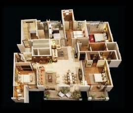 4 bedroom house plan 4 bedroom apartment house plans