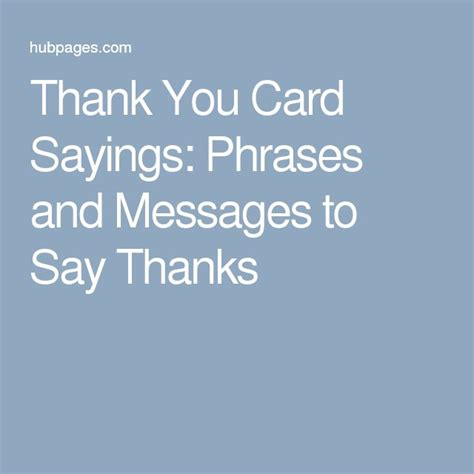 17 best ideas about Thank You Messages on Pinterest