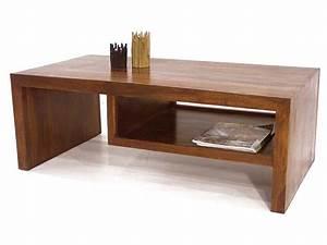 Table Basse Bois Exotique : table basse bois palissandre 1 niche jorg 5054 ~ Dode.kayakingforconservation.com Idées de Décoration