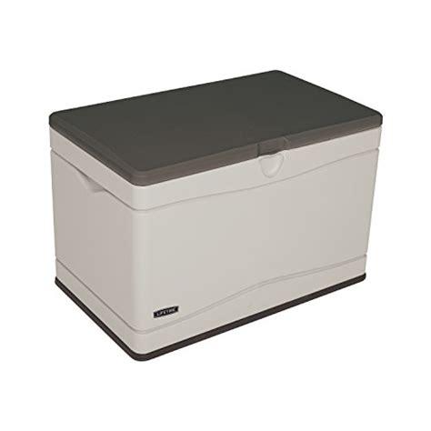Lifetime 130 Gallon Deck Box Assembly by Lifetime 60103 Deck Storage Box 80 Gallon Deck Boxes