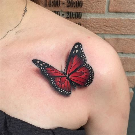 attractive butterfly tattoos