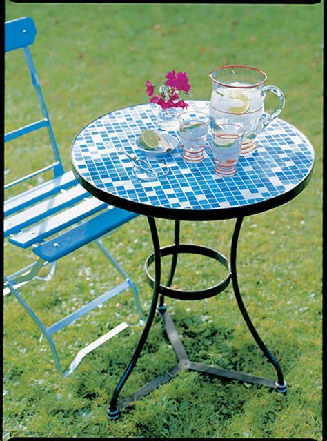 mosaiktisch mit stühlen mosaiktisch gestalten