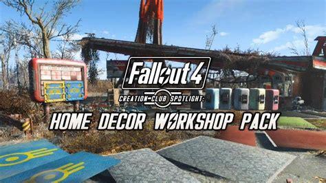 Fallout 4 Home Decor Workshop :  Elianora's Home Decor Workshop