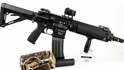 Hk416 Automatic Weapon Weapons Wallpapers Machine Miscellaneous