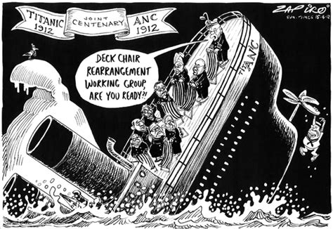 rearranging the deck chairs on the titanic southafrica