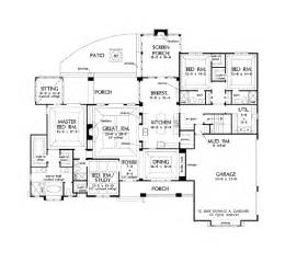 4 bedroom open floor plans open floor plans for single story country homes 3047 sq ft with 4 bedroom 4 bath and