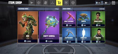 fortnite item shop rotation  fortnitebr