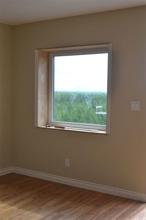 Window Casings And Sills by White Easy Window Trim Diy Projects
