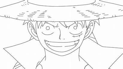 Luffy Monkey Line Deviantart