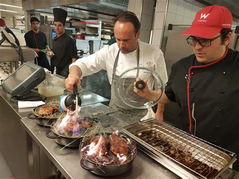 chef de cuisine en suisse haute cuisine au w verbier une sacrée équipe de chefs