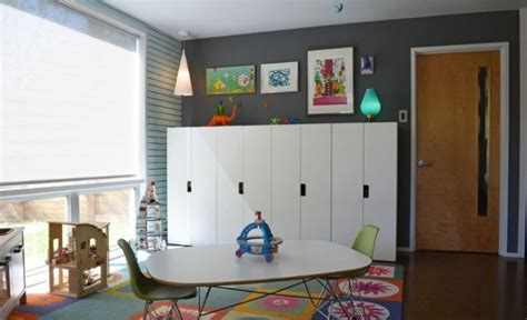 cuisine enfants en bois idée rangement chambre enfant avec meubles ikea