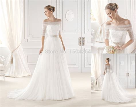 Wedding Dresses With Sleeves : Wedding Dresses With Sleeves Off The Shoulder