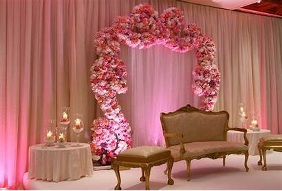 Decoration Stage Weddings Flower Lights