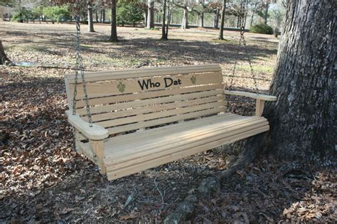 3 Ft Porch Swing by Wooden Bench Patio Yard Porch Swing 3 Ft Cypress Outdoor