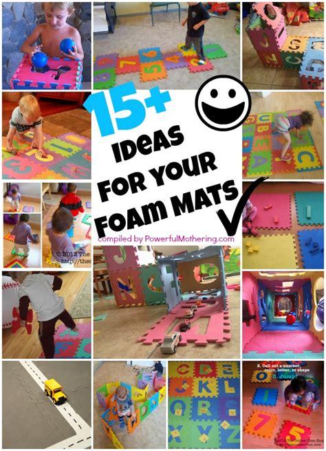 ideas   puzzle abc  number foam mat